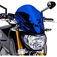 Motorbike Puig Windscreen Windshield Touring Yamaha MT-09 13-16 Naked New Generation blue
