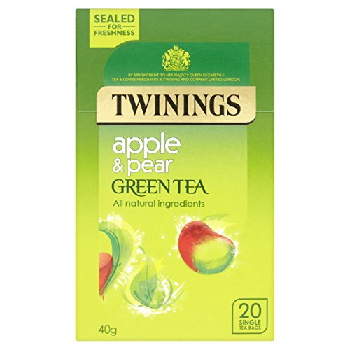 Twinings Apple & Pear Green Tea, 20 Tea Bags