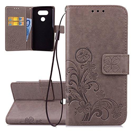 ISAKEN Accessories Cover Per LG G5 PU Pelle Portafoglio Custodia ... 6303c3c17ec