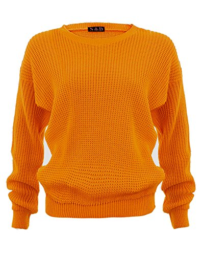 Style Divaa® Ladies Chunky Knitted Baggy Jumper Test