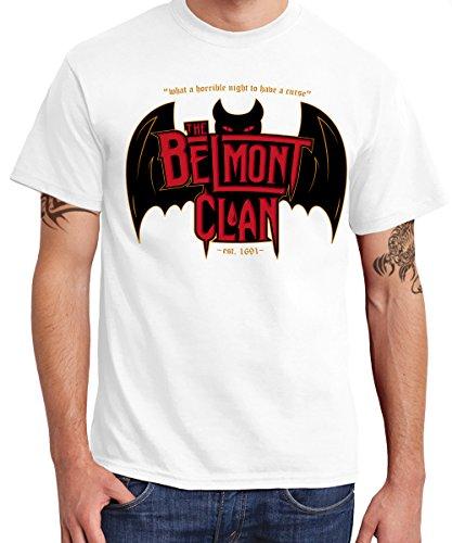 -- Belmont Clan - Vampire Hunters -- Boys T-Shirt Weiß
