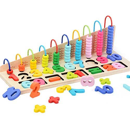 Holz Kinderperlen Anzahl Grafisches Puzzle Puzzle Pädagogisches Spielzeug Für Kinder YunYoud Kinder spielzeuge Spielzeug kaufladen günstig Spielzeug online