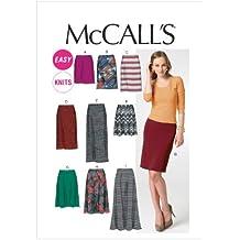 McCalls M6654 - Patrones de costura para confeccionar faldas