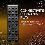 Seagate STEB3000200 3 TB Expansion Desktop USB 3.0 Disque dur externe pour PC, Xbox One et PlayStation 4