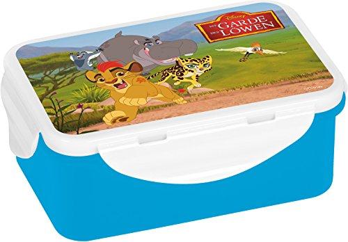 Disney Garde der Löwen Brotdose, Plastik, Mehrfarbig, 16,3 x 10,5 x 6,5 cm