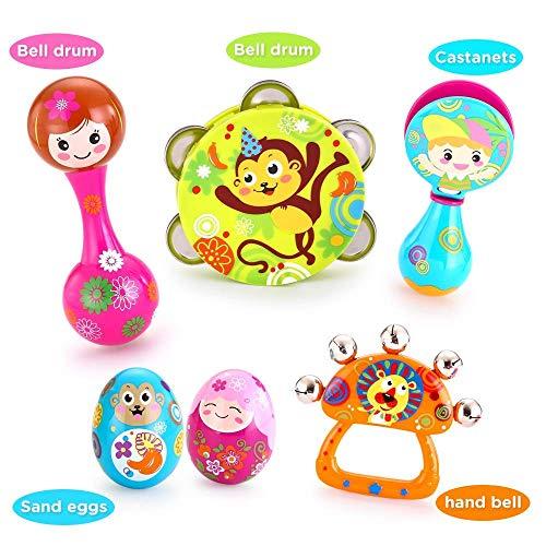 Vatos Instruments de Musique pour Enfants Jouets éducatifs...