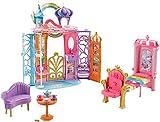 Barbie-Ftv98 Castello Arcobaleno, Multicolore, FTV98