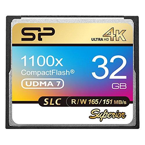 Silicon Power SLC NAND 1100x 32GB Compact Flash Card -