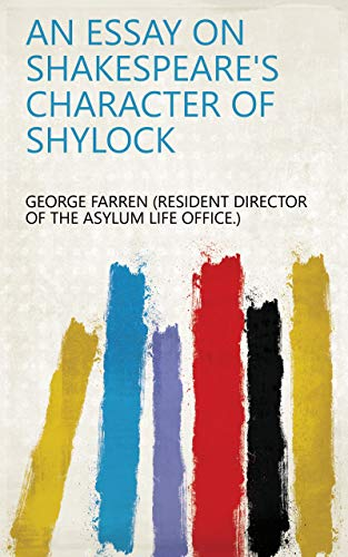 character of shylock essay