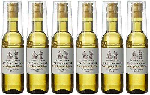 Les Vignerons Vin de France, 7 cl - Lot de 6