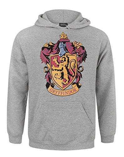 Harry Potter Gryffindor Crest Men's Hoodie (XL) (Crest Vanille)