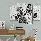 Pintura de la lona Modern Wall Art Poster Balanza Escala Para La Justicia Legal Para la Sala de estar Decoración Para El Hogar Sin Marco