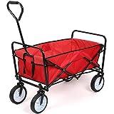 Best Folding Wagons - HOMFA Garden Cart Foldable Pull Wagon Hand Cart Review