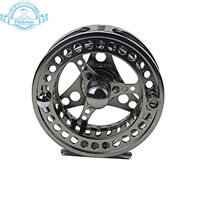 Funtress Full Allumen Fly Fishing Reel 2+1 BB Lightweight 3/4 5/6 7/8 9/10 Waterproof Fly Fishing Gear from Funtress