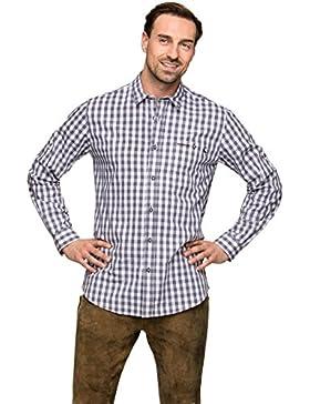 Stockerpoint Trachtenhemd Mitchel grau
