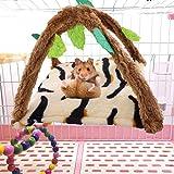 Riverry Amaca per Criceto, Amaca per Animali Piccola Nido per Dormire Decorazione per Gabbia Accessori Ratto per Criceto Che Gioca Dormire