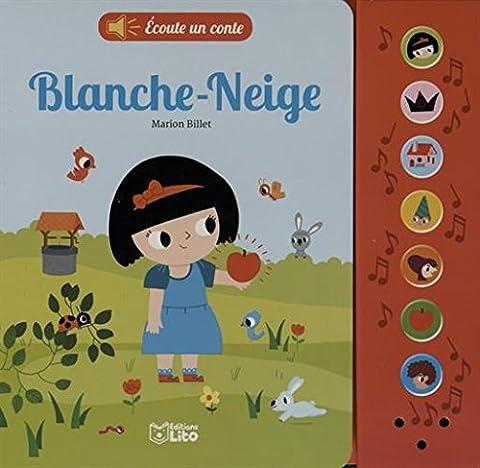 Livre Anime Blanche Neige - Écoute un conte: Blanche neige - Dès