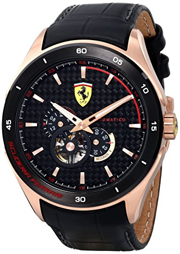 Ferrari Uomo Analog Dress Automatica Reloj 0830108