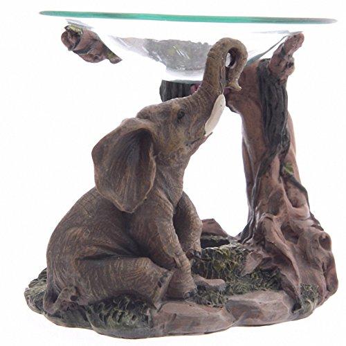 Realistic-Elephant-Scene-Oil-Burner