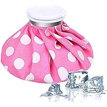 Ice bag–Cammate caldo e freddo riutilizzabile da 22,9cm–colore rosa (rosa)