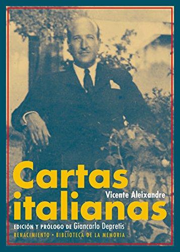 Cartas italianas (Biblioteca de la Memoria, Serie Menor)