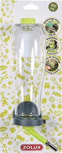 Zolux Biberon roditori con riempimento Facile Verde Anice 500ml (riempimento dal Superiore)