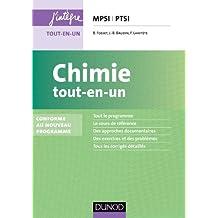 Chimie tout-en-un MPSI-PTSI - 2e éd. - Conforme au nouveau programme