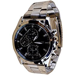 Men Stainless Steel Band Machinery Sport Quartz Watch By JACKY