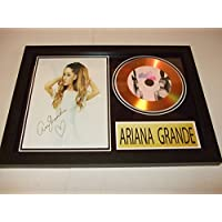 Ariana Grande Signed disque d'or