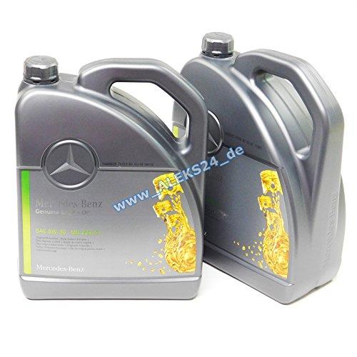 Original Mercedes Benz Aceite Motor 5W30 MB 229.51 10 L (2 x...