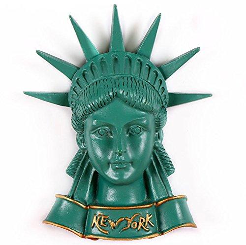 Statue of liberty-3d Kunstharz starker Kühlschrank Magnet Souvenir Tourist Geschenk