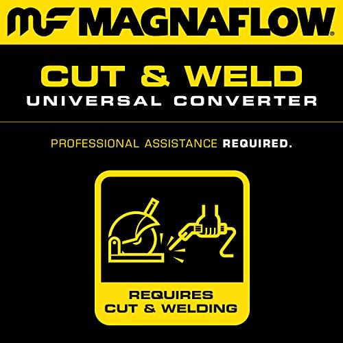 Magnaflow 94009 Universal Catalytic Converter (Non CARB compliant) by Magnaflow