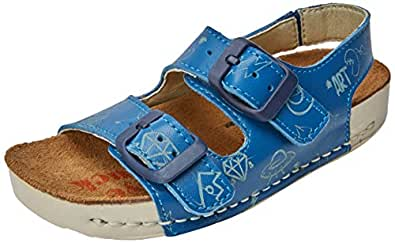 art Kids Jungen A437s Star Reef/I Play Peeptoe Sandalen, Blau (Reef), 30 EU