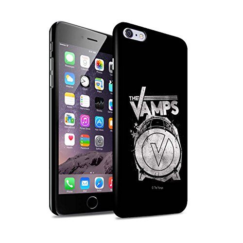 Offiziell The Vamps Hülle / Glanz Snap-On Case für Apple iPhone 6S+/Plus / Pack 6pcs Muster / The Vamps Graffiti Band Logo Kollektion Bassdrum