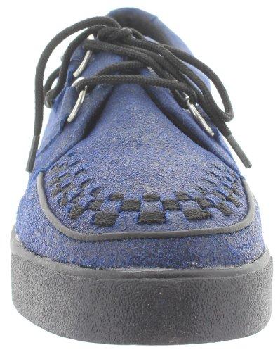 T.U.K., Scarpe stringate uomo Blu blu Blu (blu)