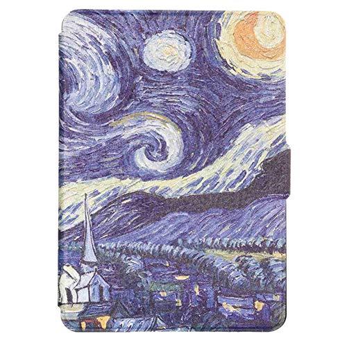 Hülle für Kindle Paperwhite - Die dünnste und leichteste Schutzhülle mit Auto Sleep/Wake Funktion für Kindle 558,Farbe 6
