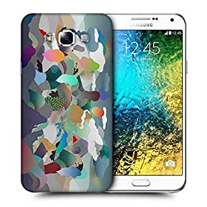 Snoogg Paper Ring Of Fire Printed Protective Phone Back Case Cover ForSamsung Galaxy E7