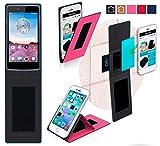 Oppo Neo 3 Hülle in pink - innovative 4 in 1 Handyhülle -