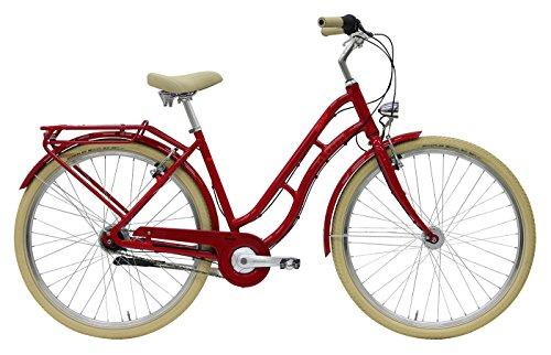 Damen City Fahrrad 28 Zoll - Pegasus Tourina - 8 Gänge Nabenschaltung Rücktrittbremse Tiefeinstieg - rot