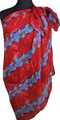 Immerschön Tuch Schal Pareo Strandtuch Wickeltuch Sarong in vielen Motiven  und Farben USA Flags & Stars ...