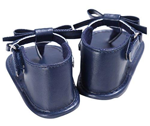EOZY Babyschuhe Sandalen Weiche Sommer Kleinkind Schuhe Blau