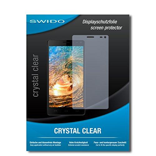 SWIDO Bildschirmschutz für Siswoo R8 Monster [4 Stück] Kristall-Klar, Hoher Härtegrad, Schutz vor Öl, Staub & Kratzer/Schutzfolie, Bildschirmschutzfolie, Panzerglas Folie