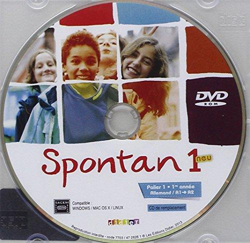 Spontan 1 neu palier 1-1re année - DVD-rom de remplacement