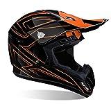 Airoh Motorrad Helme Orange, Größe M