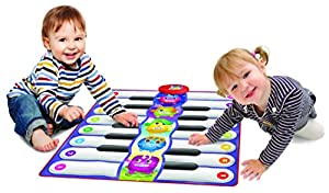 Playmats- Duo Piano Tapiz Interactivo Musical, Multicolor (Neo Toys 1933)