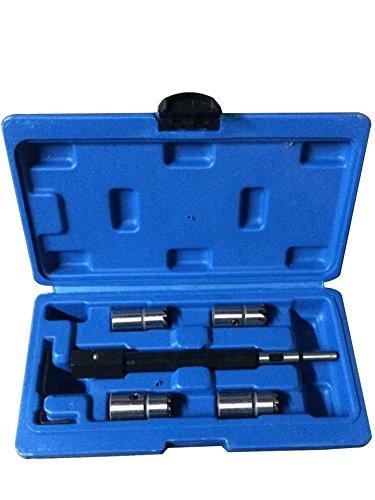 Poncherish Kit Testeur de Compression Compressiom/ètre Moteur Essence Cylindre Coffret