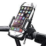 Anti-Shake Fahrrad Handyhalterung, BIGO [Universal] [360 ° Grad drehbar] [Ein-Klick Funtion] Fahrradhalterung Smartphone Handyhalter Motorrad Halterung, Verstellbar Für Smartphone GPS Andere Geräte