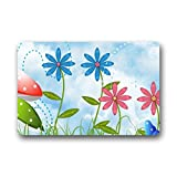 Dalliy Fr¨¹hlingsblume Fu?matten Doormat Outdoor Indoor 23.6
