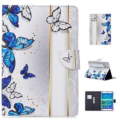 MYTHOLLOGY Universal für 7 Zoll Tablette Hülle, Stoßfest Hülle PU-Leder Case Ständer Schutzhülle für Acer Iconia one 7 B1-780 /B1-770 /Acer Iconia Talk S (A1-734) - AB10