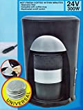 KAFFEEMASCHINE für 1 Tasse 24V/300W Padmaschine Kaffee Pad Becher LKW Caravan 57